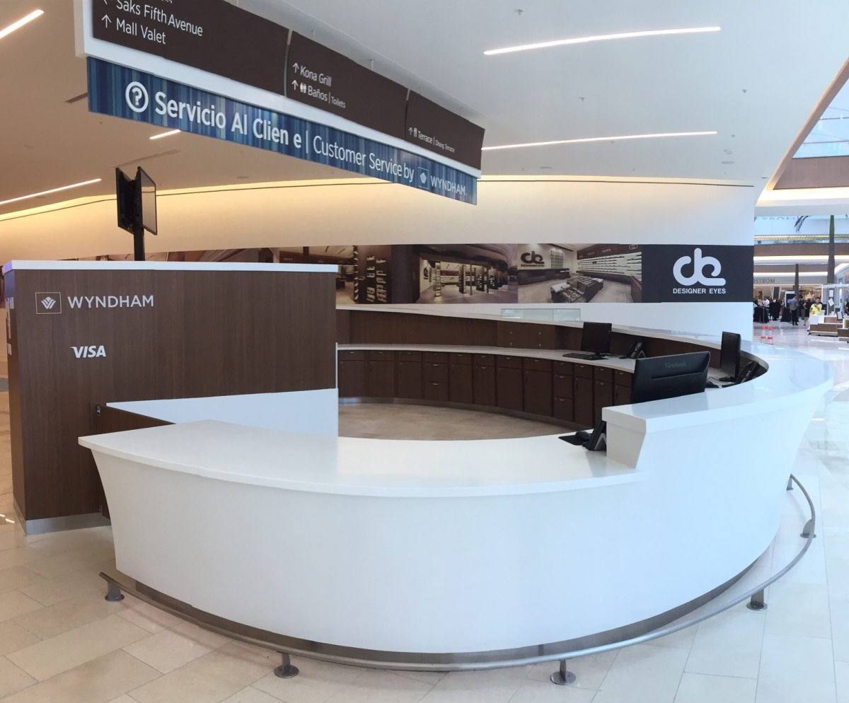 Tate Ornamental San Juan Customer Service Desk