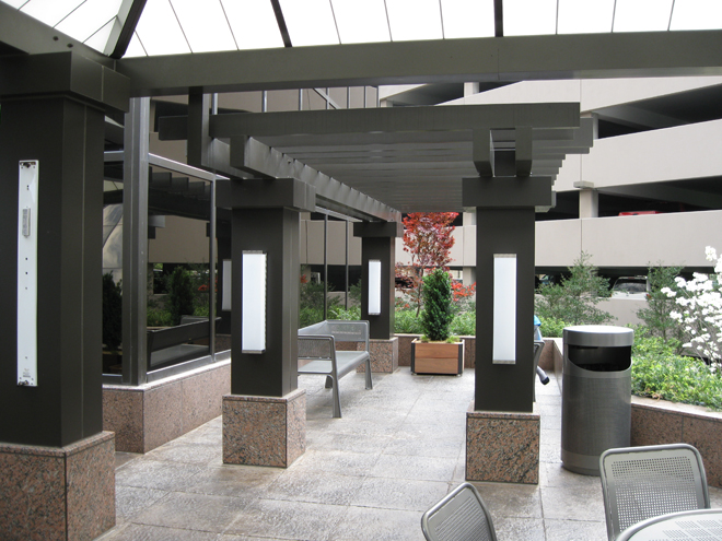 Tate Ornamental Metal canopy Nashville TN