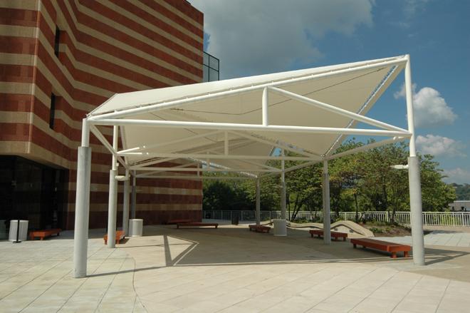Tate Ornamental Metal canopy Nashville TN