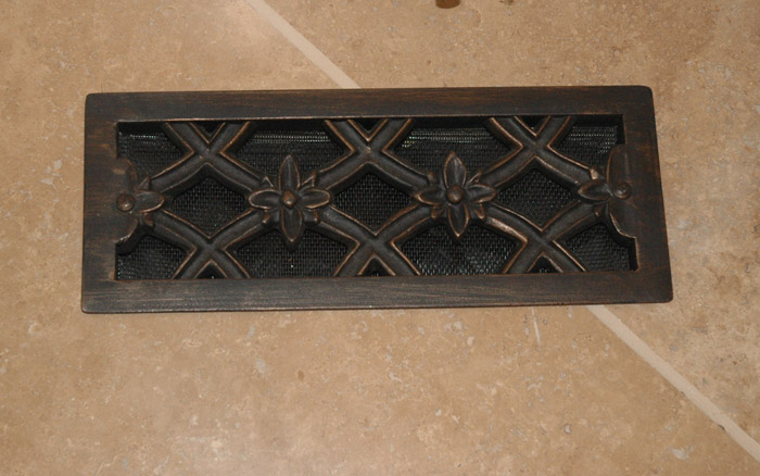 Decorative Floor Vent