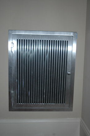 Aluminum Return Air Grill