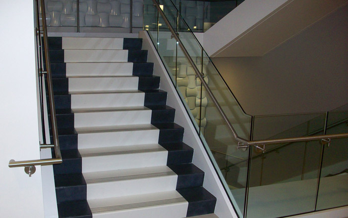 Tate Ornamental Stone Commercial Nashville TN stair treads